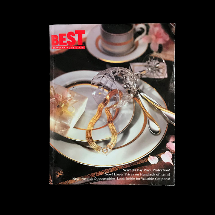 BEST Products, Jewelry & General Merchandise Catalog, 1995/96